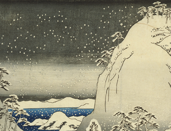 Featured image for the project: Depicting snow in woodcuts